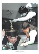 John Parrott autographed high quality 16x12 inch s