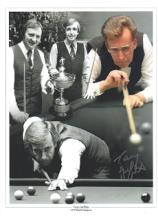 Terry Griffiths autographed high quality 16x12 inc