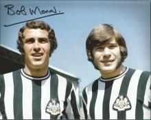 Bobby Moncur signed 10 x 8 colour football photo G
