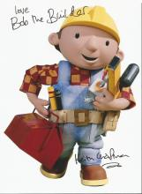 Keith Chapman signed 10 x 8 colour Bob the Builder