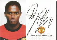 Antonio Valencia Signed Manchester United Photocar