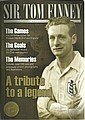 Tom Finney signed on portrait page of his own