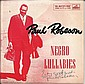 Paul Robeson Signed single Negro Lullabies, good