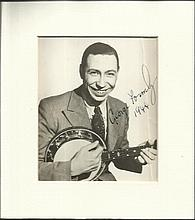 George Formby signed 1944 6 x 4 b/w photo classic