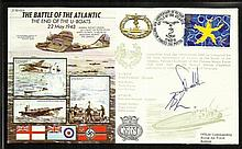 Battle of the Atlantic 50th ann WW2 cover