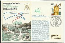 Navy signed cover 1976 RNSC (2)23 Royal Navy cover