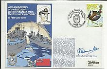 Navy signed cover 1980 RNSC (2)24 40th Anniversary