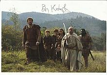 Ben Kingsley signed 12 x 8 colour photo in white