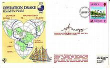 Gen Sir John Mogg DSO signed Operation Drake cover