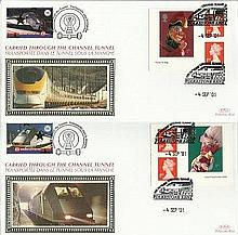 Benham official Channel Tunnel FDC CH0109 Chunnel Punch & Judy 4/9. Good co