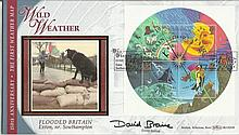 David Braine Benham Official signed FDC BLCS203R Weather 2500 Signed by Dav