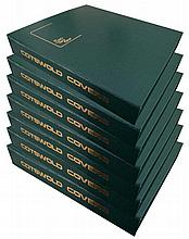 Cotswold FDC collection in Eight Huge cover albums. There are 7 green 1 bla