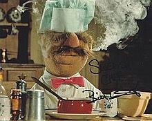 Bill Baretta 'Swedish Chef' obtained London hotel for the Muppet movie pres