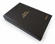 Robert Stanford Tuck facsimile copy of his log book with printed certificat