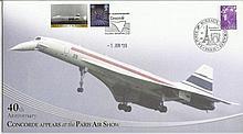 40th anniversary Concorde appears at the Paris Air show. Filton, Bristol 1/