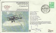 Ian Fraser VC FF40 8 Sept 1982 BFPS 1982 60th Anniv. King's Cup Flown by Mr