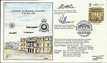 WW2 Comete Line Escaper 1984 Unusual RFDC29 first day cover commemorating t