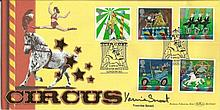 Yasmine Smart Benham Official signed FDC BLCS224S Circus 5000 Signed by Yas