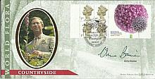 Chris Baines Benham Official signed FDC BLCS179R Botanic Label Signed by Ch