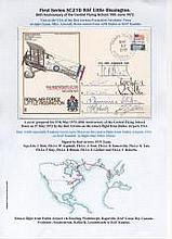 The Red Arrows 1972 Signed RAF Little Rissington FDC. The 9 signatories are