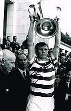Billy Mcneill Celtic FC Lisbon Lions Captain Hand Signed 12 X 8 Good Condit