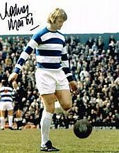 Rodney Marsh QPR Legend Hand Signed 10 X 8 Photo Good Condition