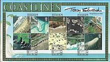 Tracy Edwards Benham Official signed FDC BLCS223S Coastlines 5000 signed by