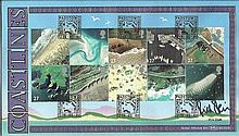 Rick Stein Benham Official signed FDC BLCS223R Coastlines Signed by Rick St