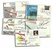 RAF Co-Ordinated covers in RAF album. 32 VIP signed covers some with multip