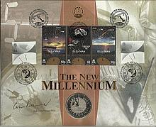 Prof Colin Pillinger. Benham Official signed FDC C99/54S New Mill Signed by