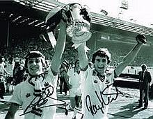 Geoff Pike And Ray Stewart West Ham Cup Winners Dual Signed 10 X 8 Good Con