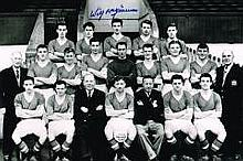 Rare Wilf McGuinness Man United Busby Babes Hand Signed 12 X 8 Good Conditi