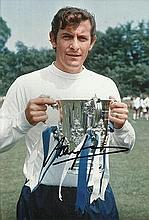 Alan Mullery signed colour 12x8 photo. Good condition