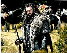 Richard Armitage 10x8 c photo of Richard from The Hobbit, signed by him in