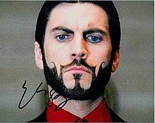 Wes Bentley 10x8 c photo of Wes from The Hunger Games, signed by him at Sun
