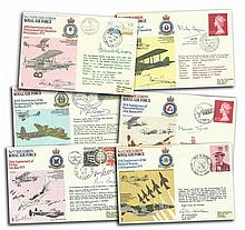 RAF Squadrons collection in RAF album. 30+ covers from the series includes