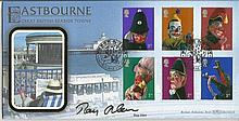 Ray Alan Benham Official signed FDC BLCS211R Punch & Judy 2500 Signed Ray A