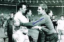 Gordon West Everton Keeper Hand Signed 12 X 8 Good Condition