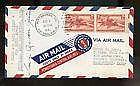 1941  US FFC First Flight Cover Signed by Post Ma