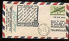 1946  US FFC First Flight Cover Signed by Post Ma