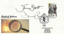 Sherlock Holmes 1993 First Day Cover with single