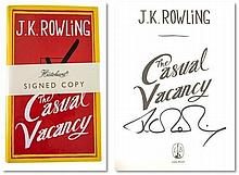 J K Rowling Hardback copy of  The Casual Vacancy
