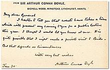 Arthur Conan Doyle A letter to an unnamed General