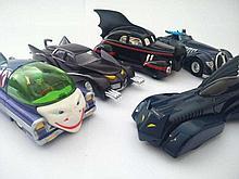Batman Corgi Model Cars Seventeen assorted cars a