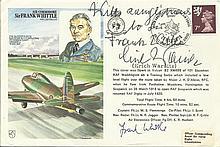 Frank Whittle and Erich Warsitz signed Frank Whit