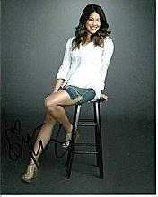 Gina Rodriguez 8x10 colour photo of Gina as Jane