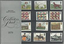 1979 Stamp Collectors Pack Complete with all stam
