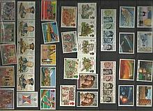 1986 Stamp Collectors Pack Complete with all stam