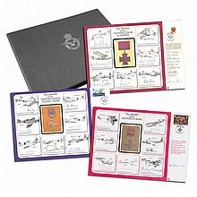 Nineteen large DM Medal Special Signed Covers. Th
