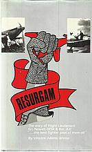 Resurgam by Vincent Adams Winter hardback book. B
